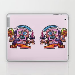 Hector, the Cubist Assassin Laptop & iPad Skin