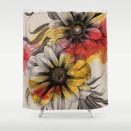 Floral Series: Gazania Rigens Shower Curtain