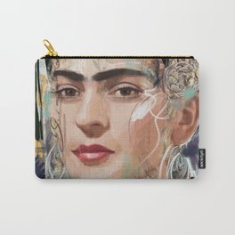 Frida Kahlo Tribute Carry-All Pouch