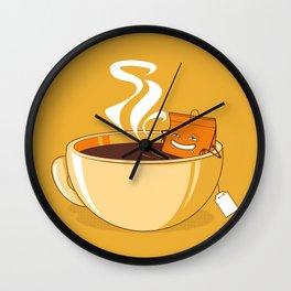 Sauna time Wall Clock