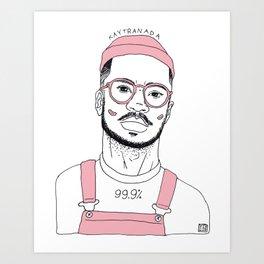 KAY Art Print