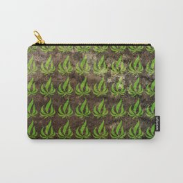 Pot leaf pattern Carry-All Pouch
