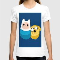 finn and jake T-shirts featuring  Finn and Jake by Mayying
