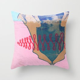 I'm Your Girl Throw Pillow
