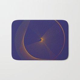 Elegant minimal modern art Bath Mat