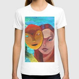 MerMaid and The Mask T-shirt
