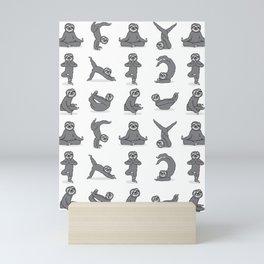 Sloth Yoga Mini Art Print