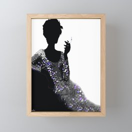 FEMME FATALE WOMAN NO APOLOGIES Framed Mini Art Print