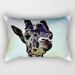 Don't Forget Your Giraffe! Rectangular Pillow