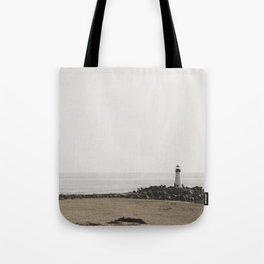 Santa Cruz Light House Tote Bag
