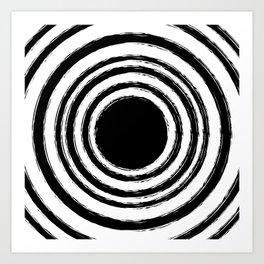 Painted Circles Art Print