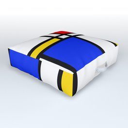 Mondrian Outdoor Floor Cushion