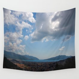 Sunshine, Clouds and Shadows Over The Bay Of Marmaris Wall Tapestry
