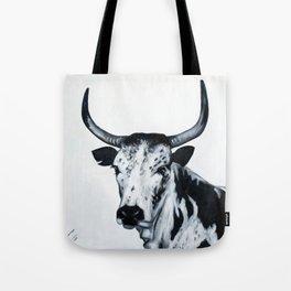 Nguni Bull Tote Bag
