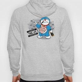 Blue Thug Life Hoody