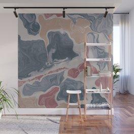 Abstract Liquid Geode Wall Mural