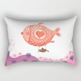 Flying_fish Rectangular Pillow