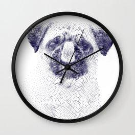 Puglet Lick Wall Clock