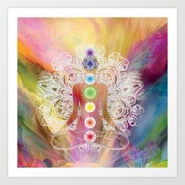 Chakra Balance Art Print