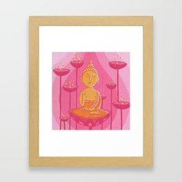 Buddha G Framed Art Print