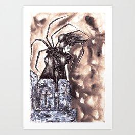 The Virgin Seed Art Print