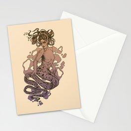 Nixie Orange and Purple Stationery Cards