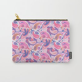 Soft pink paisley Carry-All Pouch