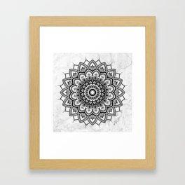 Pleasure Marble Framed Art Print