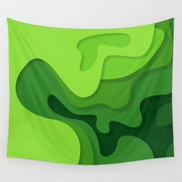 green spring Wall Tapestry