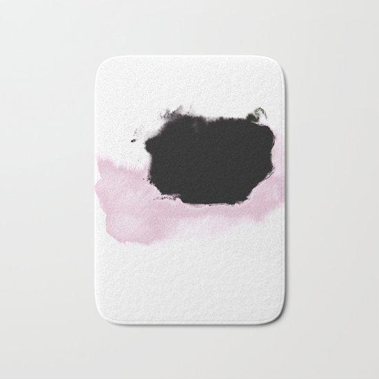 Pink to Black Bath Mat