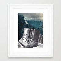 radio Framed Art Prints featuring radio by Hugo Barros