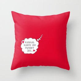 Bollywood Masala Throw Pillow