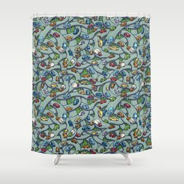 Overpasses Shower Curtain