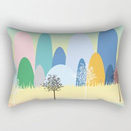 The House on the Hill Rectangular Pillow