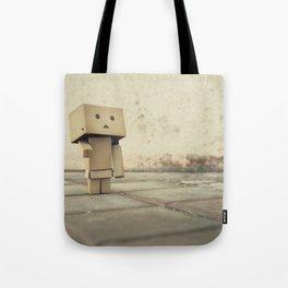 Danbo on the street Tote Bag
