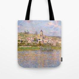1879-Claude Monet-Vetheuil-60x81 Tote Bag
