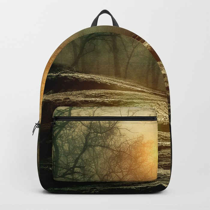 From small beginnings and big endings. by Viviana González Backpack
