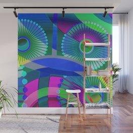 Bright Abstract Wall Mural