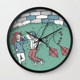 Pink Bullets Wall Clock