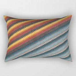 A little bit brown, a little bit grey Rectangular Pillow