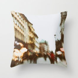 Malmo In Motion 2 Throw Pillow