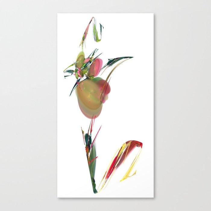 V is Vegan Canvas Print