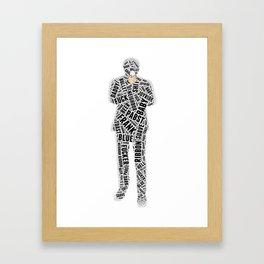 Blue Velvet: Frank Framed Art Print
