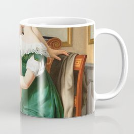 Christoffer Wilhelm Eckersberg - Bella and Hanna. The Eldest Daughters of M.L. Nathanson Coffee Mug