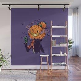The Pumpkin Bun Wall Mural