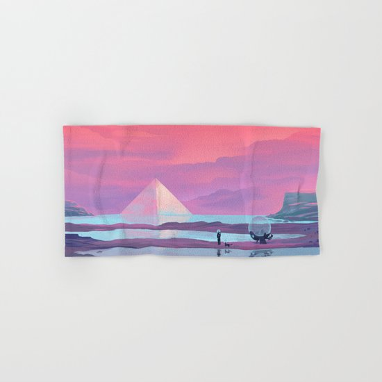 Ocean Pyramid Hand & Bath Towel