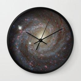 Spiral Galaxy NGC 3344 Wall Clock