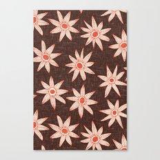 sema brown fire orange Canvas Print