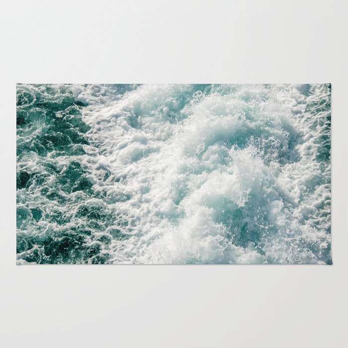 Foamy Waves Rug