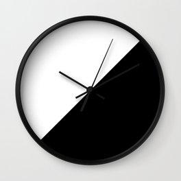 Modern MidCentury Design (B&W) Wall Clock